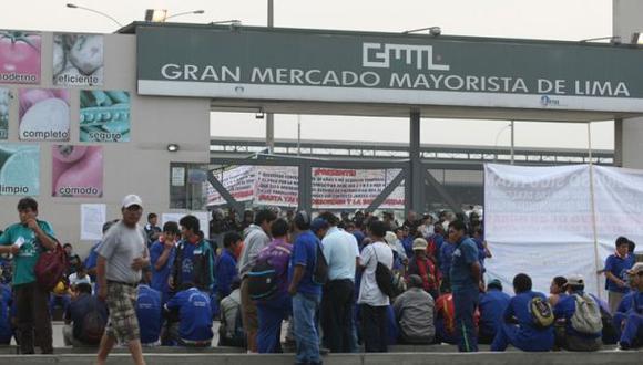 Estibadores del mercado de Santa Anita suspendieron huelga
