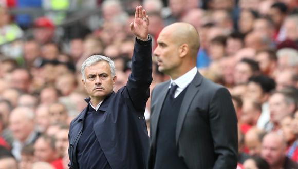 José Mourinho culpó al árbitro por derrota ante Guardiola