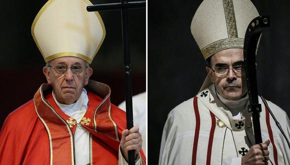Papa Francisco rechaza renuncia de Philippe Barbarin, arzobispo condenado por encubrir abusos sexuales. (AFP)