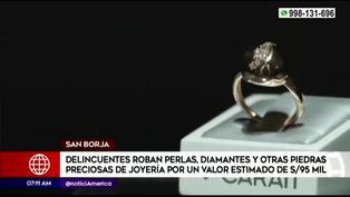 San Borja: roban joyas valorizadas en más de 95 mil soles de centro comercial La Rambla