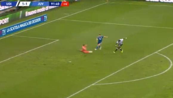 Juventus vs. Udinese: Fofana sorprendió a todos con el 2-1 a los 90+2′   VIDEO