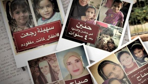 La página Niños Desparecidos ha encontrado a más de 2.500 personas con la ayuda de usuarios que suben sus fotografías. (NIÑOS DESAPARECIDOS/ATFALMAFKODA).