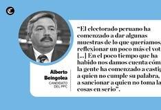 Elecciones 2018: las frases de candidatos a Lima durante la jornada