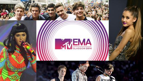 MTV EMA 2014: estos son todos los nominados a los premios