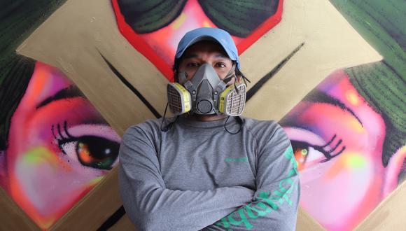 Entes tiene una carrera de veinte años en el mundo del arte urbano. El año pasado presentó una muestra individual en el Museo de Arte Contemporáneo de Bogotá.  (Foto: Difusión)
