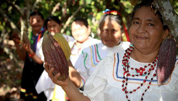 """Los productos de """"Choco Warmi"""" estarán presentes en el Salón del Cacao y Chocolate hasta el 3 de octubre. (Foto: Difusión)."""