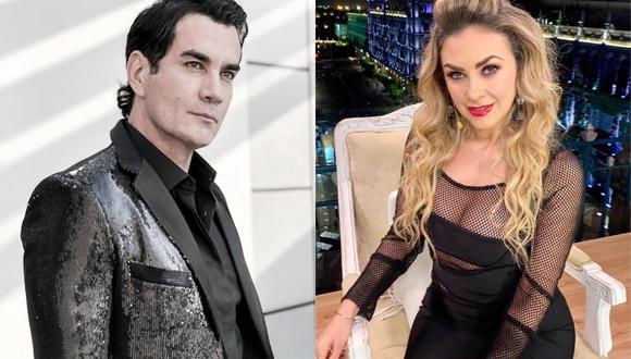 """Aracely Arámbula le robó un beso a Aracely Arámbula, su compañera de reparto en """"La Doña 2"""". (Foto: Instagram)"""