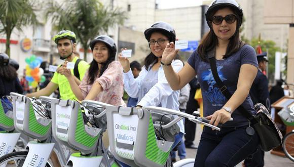 Imagen tomada en noviembre, cuando Jorge Muñoz presento las primeras bicicletas. (Foto: Jessica Vicente)