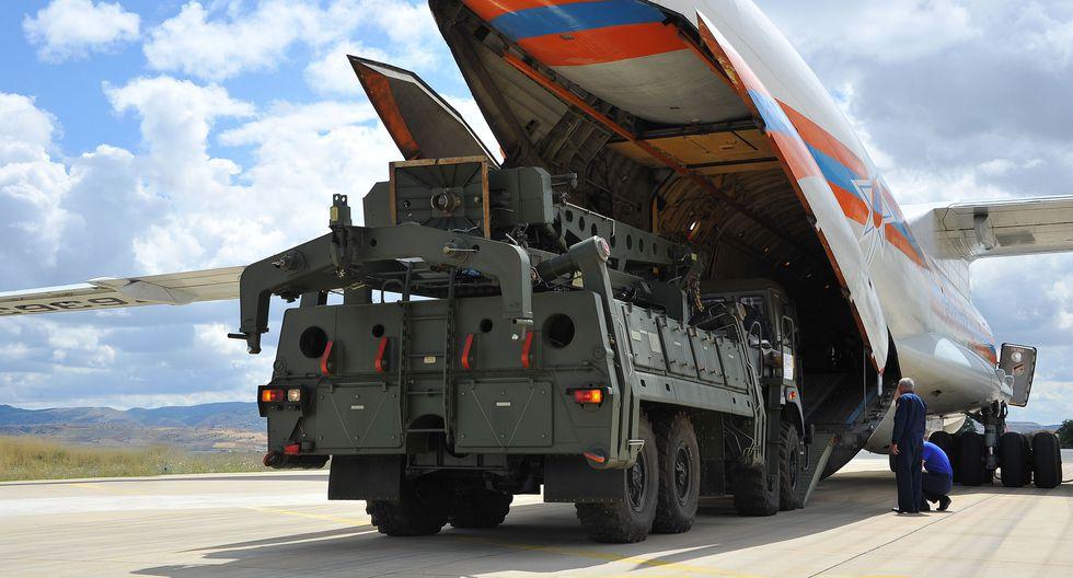 Rusia entregó a Turquía dos baterías de S-400 entre julio y setiembre de este año que, según el Ministerio de Defensa turco, estarán activas a partir de abril del 2020. (AFP).