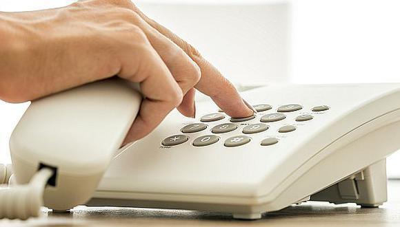 Osiptel: Tarifas de telefonía fija bajarán 0,64% desde marzo