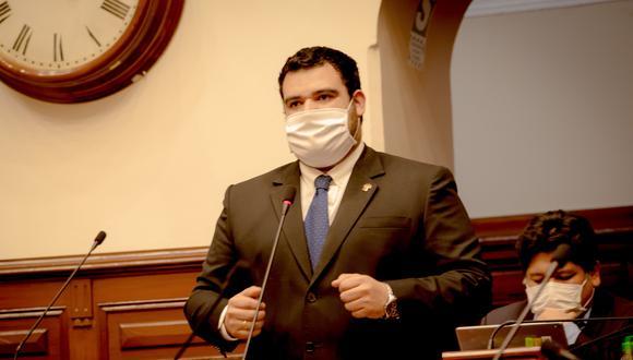 El congresista Guillermo Aliaga es representante de Somos Perú. (Foto: Difusión)