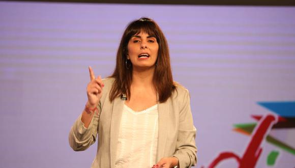 Carla García critica públicamente a la dirigencia del Apra (Britannie Arroyo)