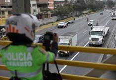 Multan a 84 vehículos en el primer día del 'pico y placa' en la Panamericana Sur