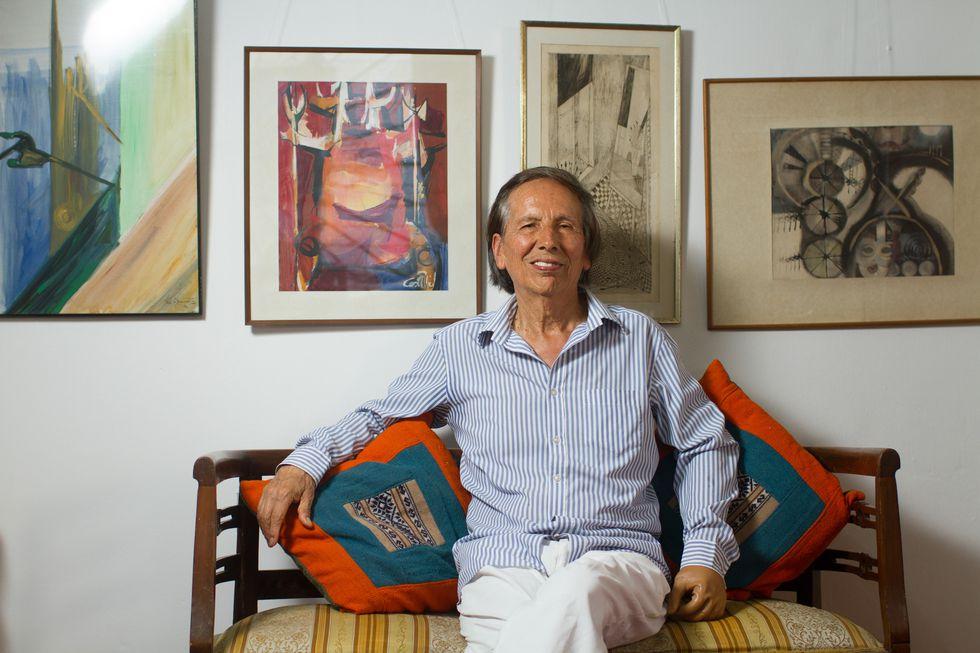 El doctor Teófilo Altamirano, en una foto del 2017, año en que recibió un homenaje de la Organización Internacional para las Migraciones. (VICTOR ZEA/El Comercio)