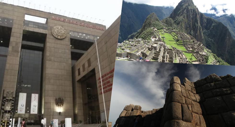 A la izquierda, la sede central del Ministerio de Cultura en la Avenida Javier Prado, en el distrito de San Borja. A la derecha, los atractivos turísticos de Cusco. (Fotos: El Comercio).