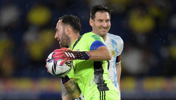 Argentina y Colombia se enfrentan por la Copa América. (Foto: AFP)