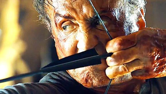 Rambo apareció por primera vez en la película First Blood de 1982