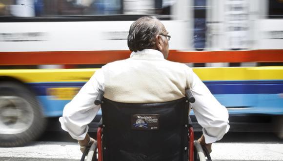 Personas con discapacidad severa no pagarán pasaje en buses