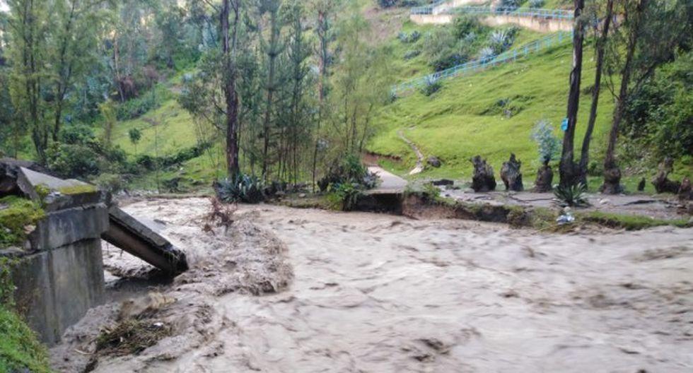 Ejecutivo amplían por 60 días emergencia en distrito de Pomabamba por lluvias. (Foto: COEN)