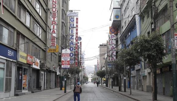 Gamarra operará a puertas cerradas. (Foto: César Campos | GEC)