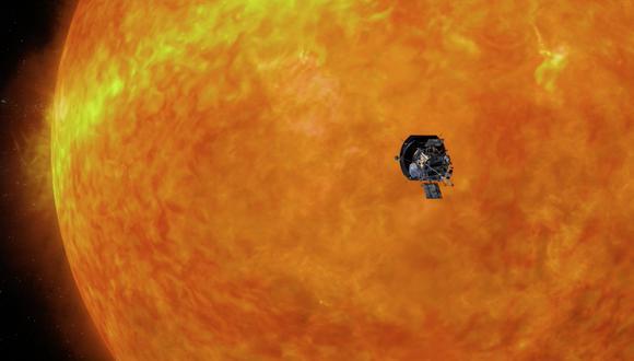 Solar Parker. (Foto: NASA/JHUAPL)