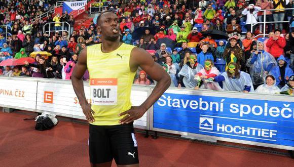 Usain Bolt ganó en 200 metros pero quedó lejos de su marca
