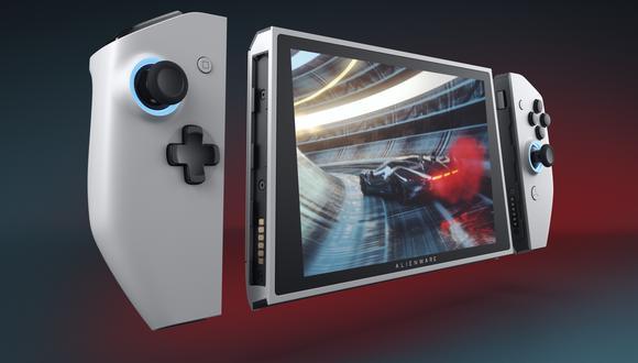 Durante la feria tecnológica presentaron un prototipo de PC diseñado específicamente para jugar que tiene forma de consola portátil (Imagen: Alienware)