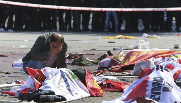 """Atentado en Turquía: """"Vi una mano seccionada sobre el asfalto"""""""