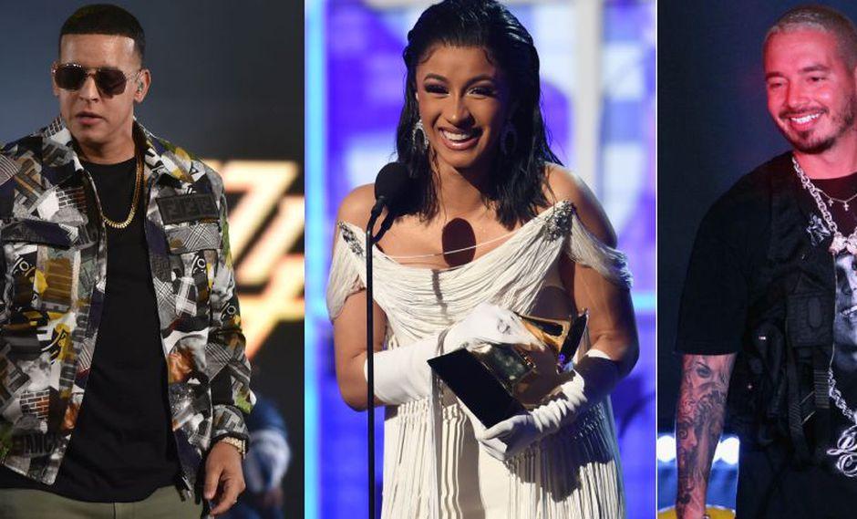 J Balvin, Daddy Yankee, Cardi B, Arcángel y De La Ghetto decidieron cambiar sus nombres reales por otros más comerciales. (Foto: AFP)