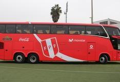 Selección Peruana: conoce el nuevo bus que acompañará a la blanquirroja   FOTOS