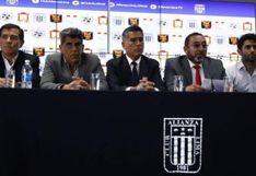 Alianza Lima, Sporting Cristal, Ayacucho FC y Melgar protestaron contra la FPF en respaldo a San Martín