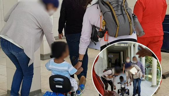 Piura: Niño de 3 años agredido por su padrastro se recuperó de sus lesiones y abandonó hospital (Foto: Hospital Santa Rosa de Piura)