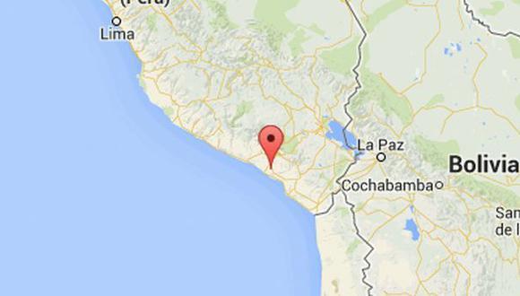 Arequipa: sismo de 5,3 grados sacudió Mollendo