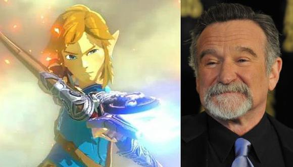 Piden transformar a Robin Williams en un personaje de Zelda