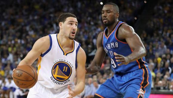 Warriors vs. Thunder: programación de final del Oeste en la NBA