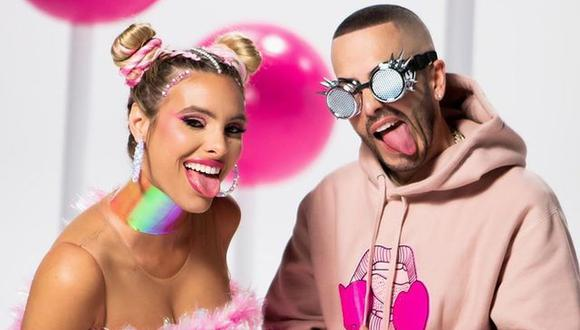 """Lele Pons y Yandel unieron sus voces para el lanzamiento de """"Bubble Gum"""". (Foto: @lelepons)"""