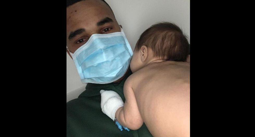 Dos bebes de algunas semanas de nacidos. Mason, de seis, y Ava da Silva, de siete. (Foto: Dailymail)