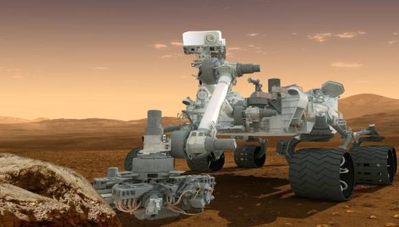 Curiosity detecta nitrógeno en la superficie de Marte