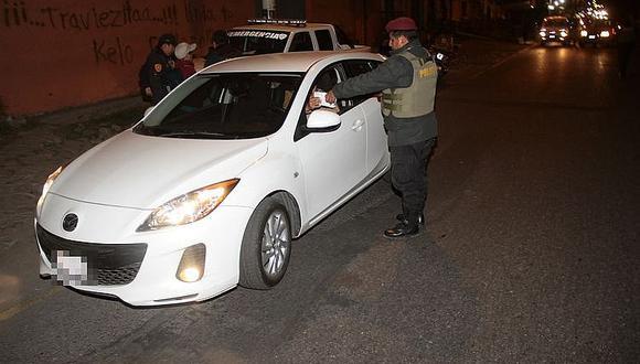 La Policía intervendrá a las personas que no tengan justificación para circular por las calles durante el Estado de Emergencia. (Imagen referencial/GEC)