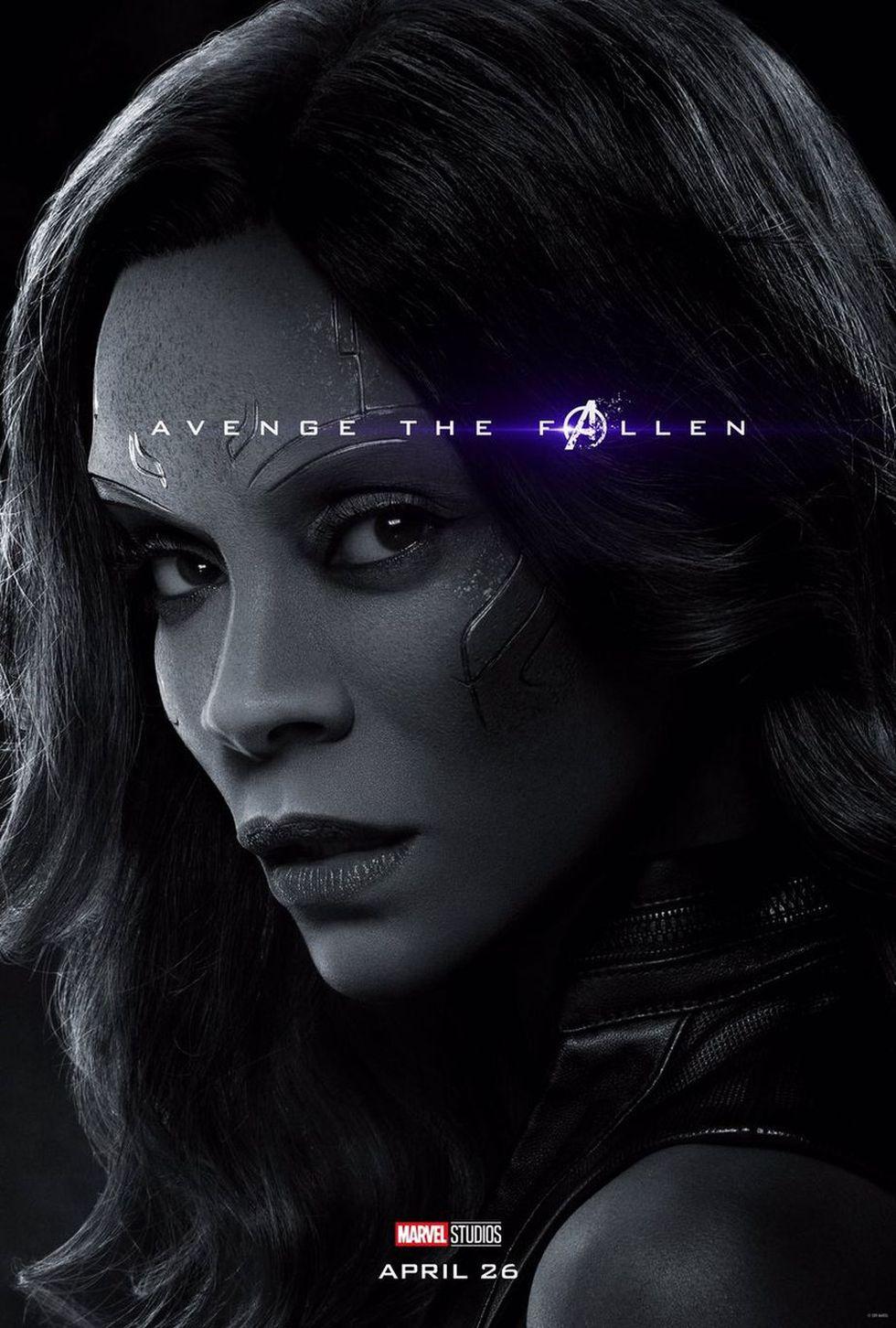 Gamora - MUERTA (Foto: Avengers: Endgame / Marvel Studios)
