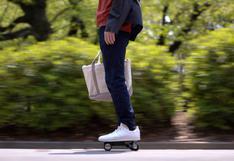 Walkcar   El vehículo japonés eléctrico y portátil que se puede llevar en la mochila