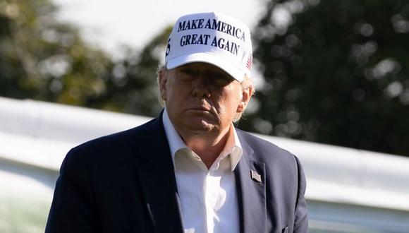 Donald Trump no logró la reelección como presidente de Estados Unidos. (GETTY IMAGES).