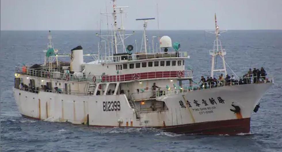 La embarcación Ping Shin 101 se hundió en julio del 2014 después de una explosión por una falla mecánica. (Foto: Infobae)