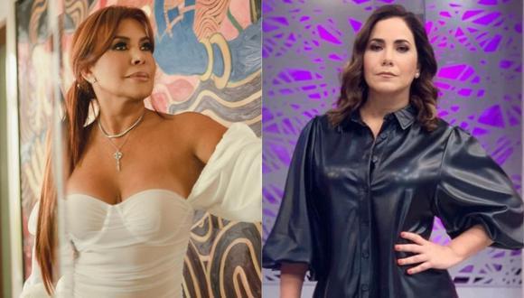 Magaly Medina se pronunció sobre la separación de Andrea Llosa y su esposo luego de 16 años de matrimonio. (Foto: @magalymedinav/@andreallosabarreto)