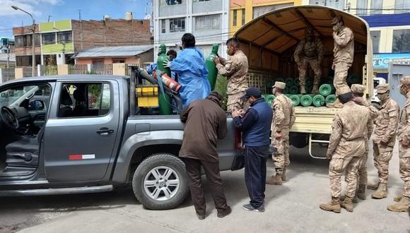Según el reporte de la Diresa Puno, la región contabiliza 9.345 personas contagiadas con COVID-19 y 369 han fallecido (Foto: Gobierno Regional de Puno)