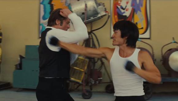 El actor Mike Moh interpreta a Bruce Lee en la película de Tarantino. (Foto: Difusión)