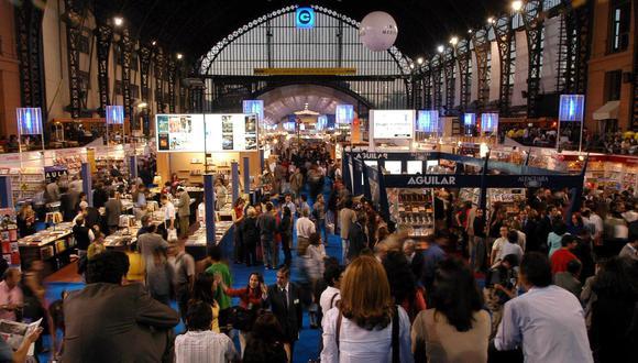Feria Internacional del Libro de Santiago de Chile (Filsa) (Foto: El Mercurio / GDA)