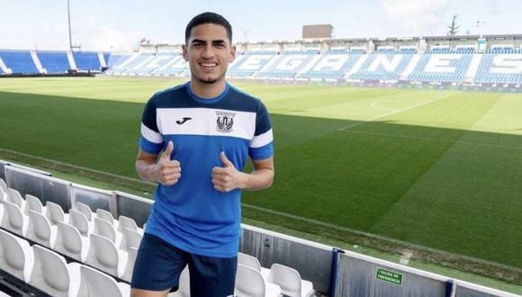 Jorge Luis García, el futbolista de ascendencia peruana que busca triunfar en el club Leganés de España | Foto: Leganés