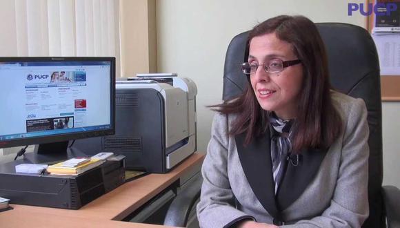 Rocío Villanueva Flores es la primera decana de la Facultad de Derecho PUCP en 103 años de vida institucional. (Foto: PUCP)