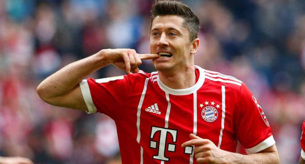 Robert Lewandowski - Bayern Múnich. (Foto: AFP).